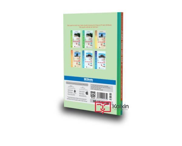 Kaixin Giáo trình Hán ngữ 2 - Tập 1 quyển hạ Phiên bản MỚI (App) bìa sau